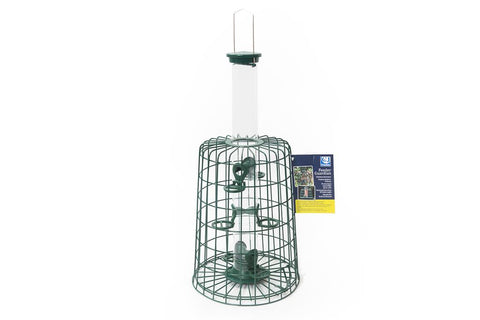 CJ Wildlife 6 Port Seed Bird Feeder