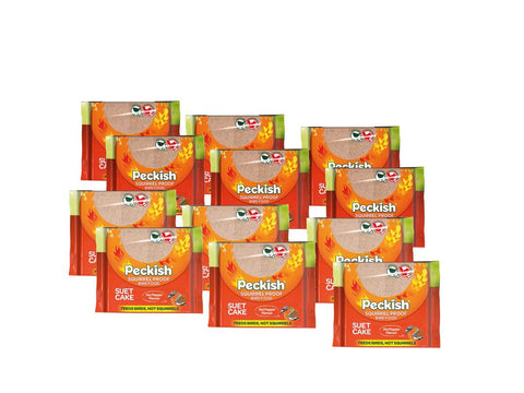Peckish Squirrel Proof Suet Cake Pack of 12