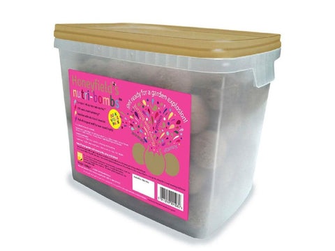 12.6Kg Honeyfields Nutri Bombs 140 Per Tub