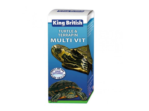 King British Turtle and Terrapin Multivitamin 20ml