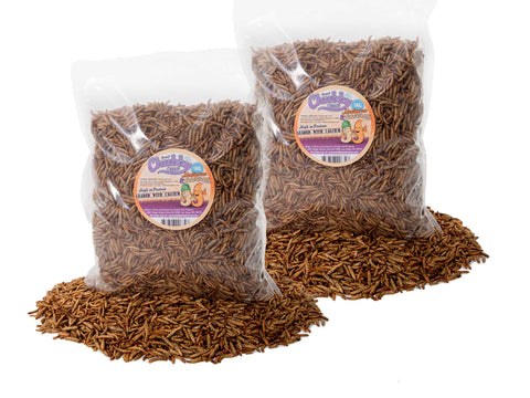 2Kg Chubby Dried  Mixes (Mealworms & Calci Worms)