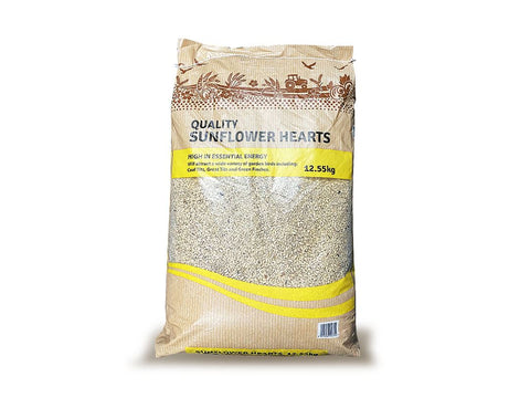 Chubby Quality Wild Bird Sunflower Hearts 12.55Kg