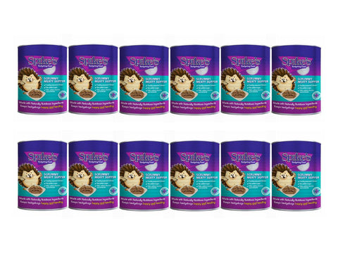 Spikes Meaty Scrummy Meaty Supper Hedgehog Food 395g Pack of 12