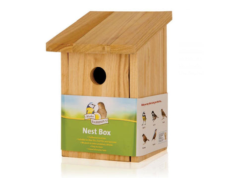Walter Harrison's Wooden Nest Box 32mm Opening