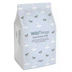 1.5kg Wild Things Floating Swan & Duck Food Feed Pellets