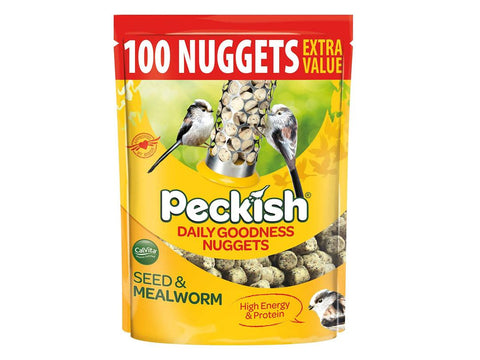 Peckish Extra Goodness 100 Nuggets 2kg