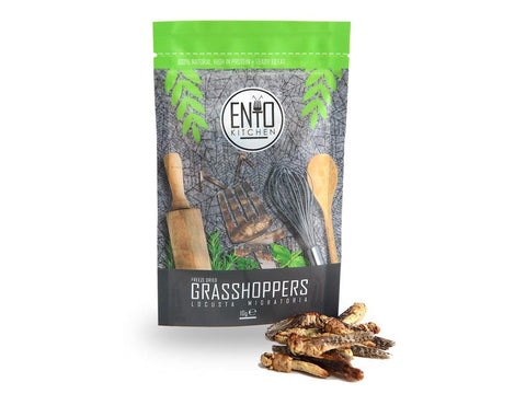EntoKitchen 10g of Edible Grasshoppers For Human Consumption