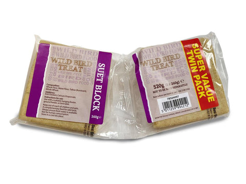 Marriages Basics Twin Pack Suet Blocks 520g