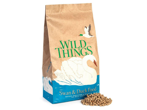 Wild Things Floating Swan & Duck Food Feed Pellets 5Kg