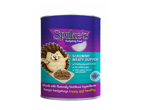 Spikes Meaty Scrummy Meaty Supper Hedgehog Food 395g
