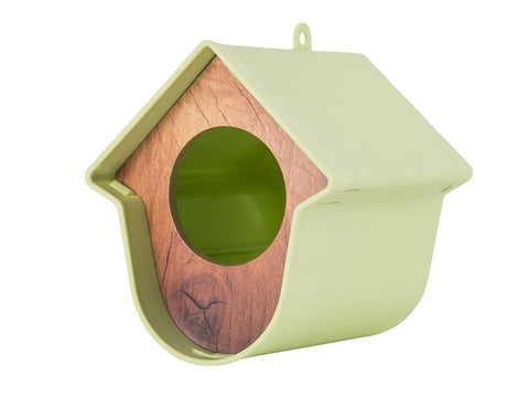 SingingFriend Evie Green Peanut Butter & Seed Feeder