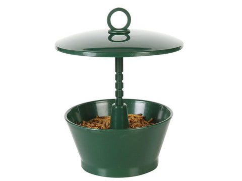 Wild Bird Feeder With Roof