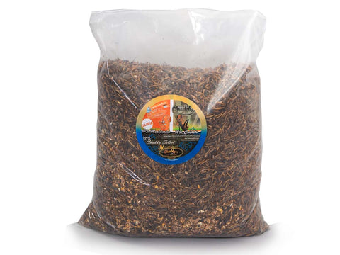 Chubby's Cricket Combo - 12.6Kg Wild Bird Seed, Mealworms & Cricket Mix
