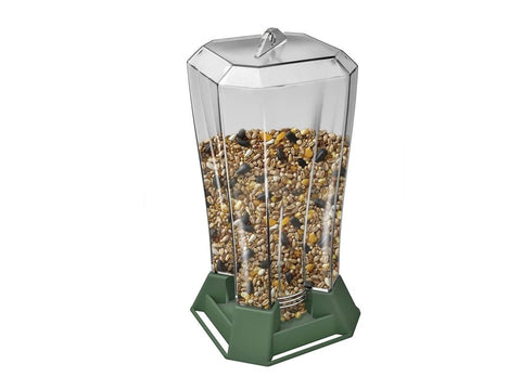 Hang and Feed Filled Bird Feeder