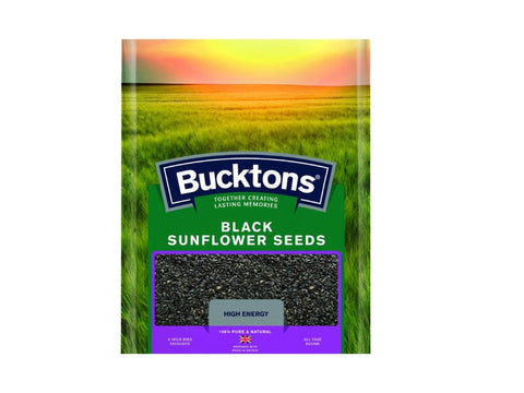 Bucktons Black Sunflower Seeds 20kg