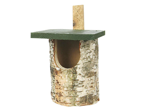 CJ Wildlife Birch Log Open Nest Box