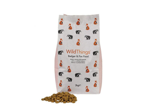 2kg Badger & Fox Food - Wild Things Crunchy Biscuits