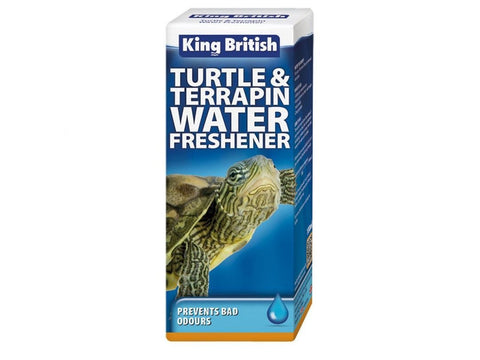 King British Turtle & Terrapin Water Freshener 100ml