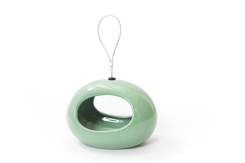 CJ Wildlife Selo Green Oval Hanging Water Dish
