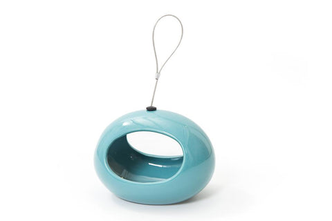 CJ Wildlife Selo Blue Oval Hanging Water Dish
