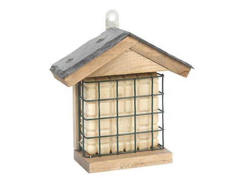 CJ Wildlife Ohio Slate Peanut Cake Square Feeder