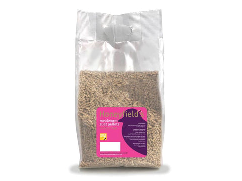 Honeyfields Suet Pellets with Mealworms 2kg