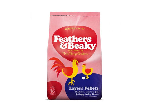 Feathers & Beaky Layer Pellets 5Kg