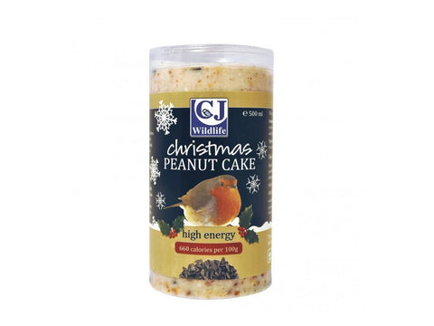 CJ Wildlife Christmas Peanut Cake 500ml