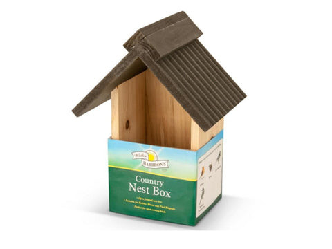 Walter Harrison's Deluxe Wooden Country Nest Box