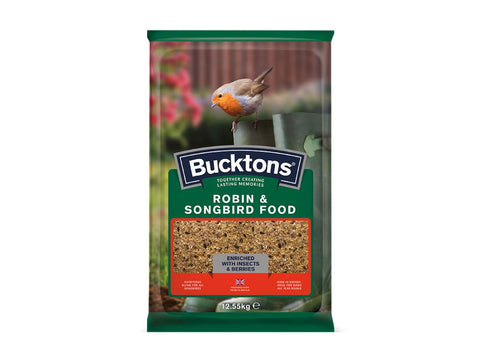 Bucktons Robin & Songbird Food Mix 12.55kg