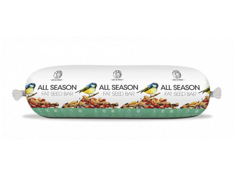 Leo & Wolf All Season Wild Bird Fat Seed Bar 600g