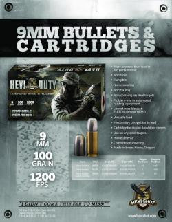 ENVIRON-Metal, Inc. To Ship New Bullet and Cartridge Products