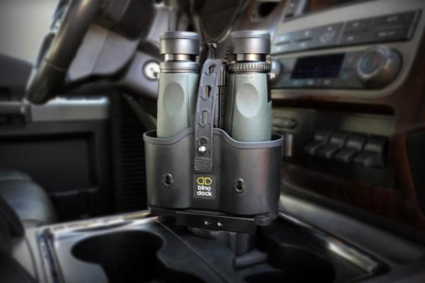 Bino Dock Turns Any Cupholder Into Binocular Holder