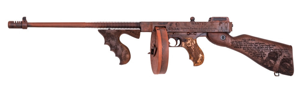 "Thompson Auto-Ordnance Introduces the ""Bonnie and Clyde"" Thompson"