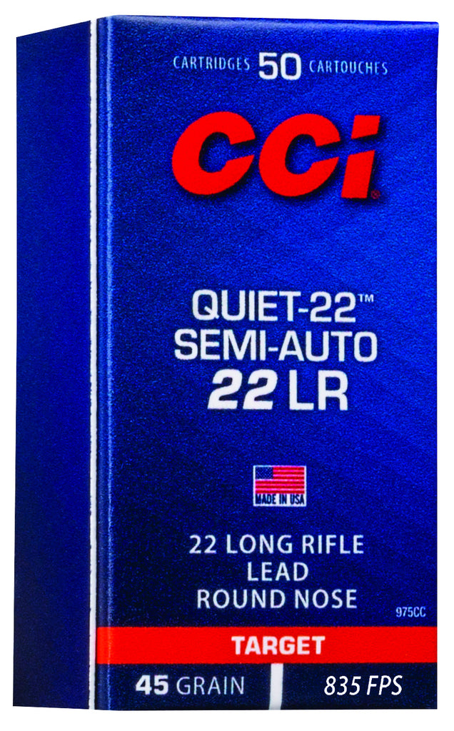 New CCI Quiet-22 Semi-Auto: Lose the Noise, Keep the Fun