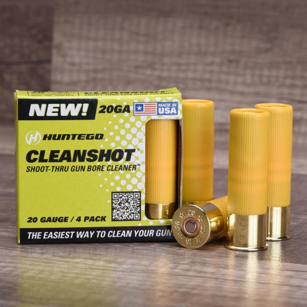 CleanShot® Releases 20-Gauge Shoot-Thru Bore Cleaner