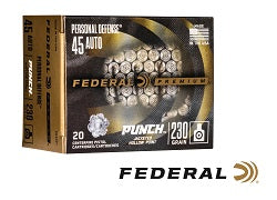 Federal's New Punch Personal Defense Ammo Delivers a Knockout