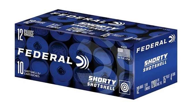 Federal Shorty Shotshells