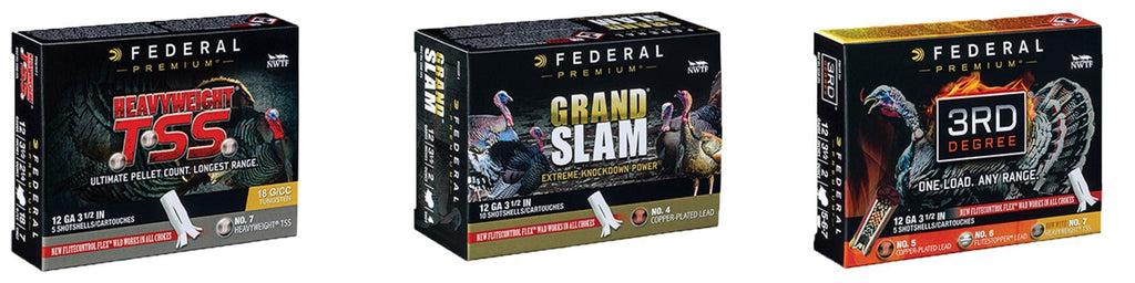 Federal Premium Revamps Turkey Shotshell Lineup With Three New Product Families