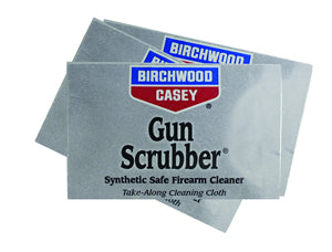 Take The Cleaning Power Of Gun Scrubber Along With Handy New Wipes From Birchwood Casey