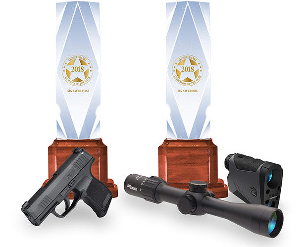"SIG SAUER Wins 2018 Guns & Ammo Awards for ""Handgun of the Year"" and ""Innovation of the Year"""