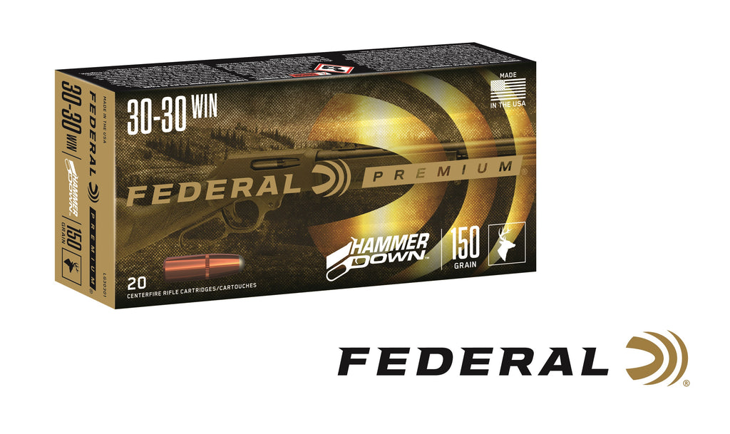 Federal's HammerDown Industry's Hunting Ammunition Optimized for Lever-Action Rifles