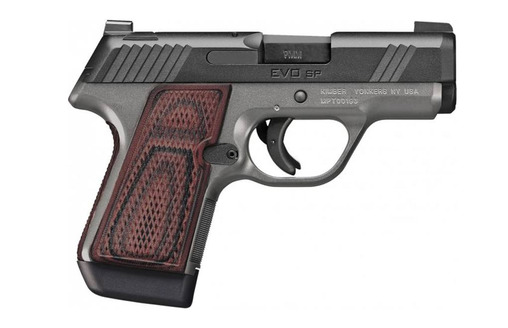 With the aluminum-framed EVO SP line, Kimber aims to tackle the striker-fired market.