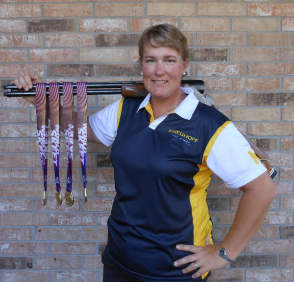 Krieghoff's Lindsay Plesko has a Miraculous Performance at the World Skeet Championships
