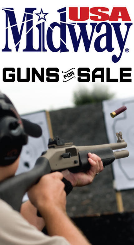 MidwayUSA Is Now Selling Guns