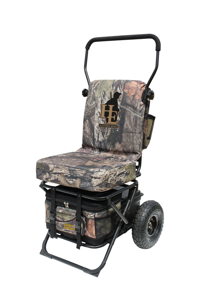 Hunter's Edge Mac Daddy Caddy Available in Mossy Oak Break-Up Country
