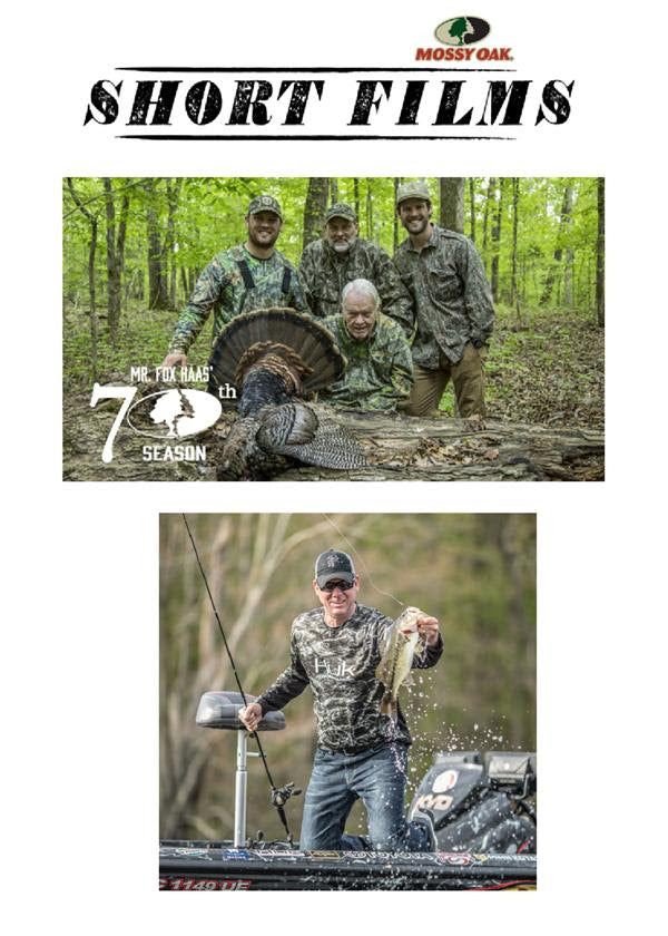 "Mossy Oak Premieres Commercial Free Series ""Short Films"" on Pursuit Channel"