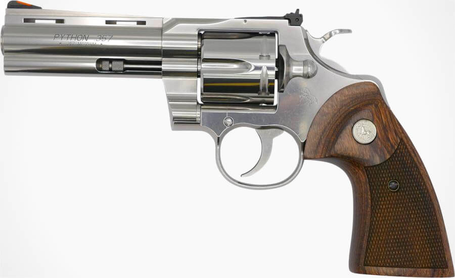 THE COLT PYTHON IS BACK
