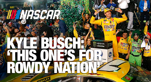 Kyle Busch wins second Cup championship with victory at Miami
