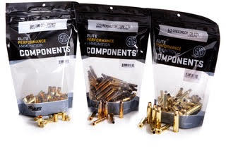 SIG SAUER Launches Components Line for Precision Handloaders